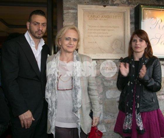 Assisi ricorda Carlo Angeletti: apposta una targa in sua memoria