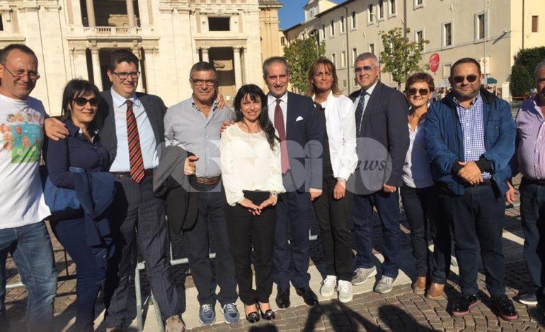 I Comuni di Assisi e Mondragone uniti da un patto d'amicizia