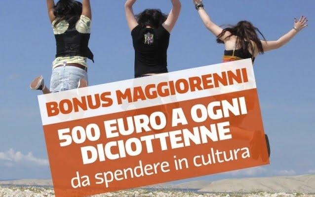 Bonus cultura 18enni anche in Umbria: come averlo