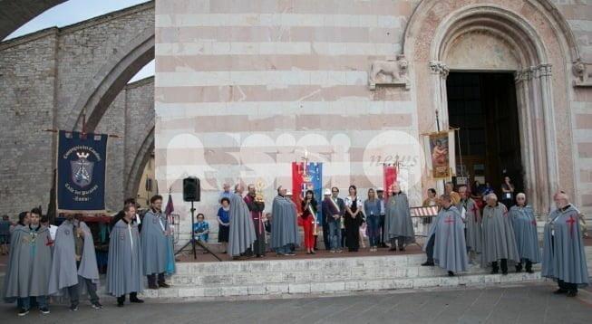 Cavalcata di Satriano 2016, le foto dell'arrivo ad Assisi