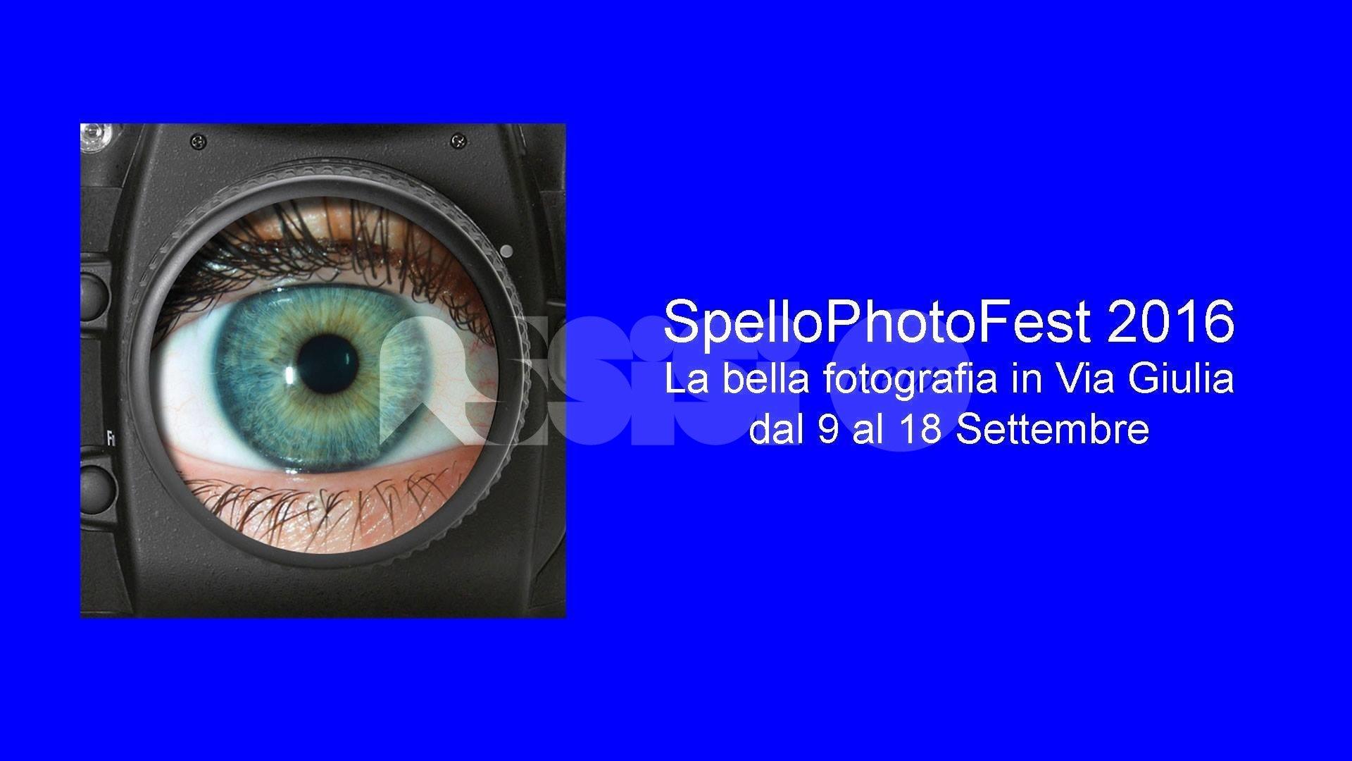 """Da venerdì a Spello la terza edizione di """"SpelloPhotoFest"""""""