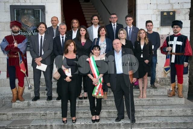 Festa del Voto 2016: le foto della prima uscita del sindaco Stefania Proietti