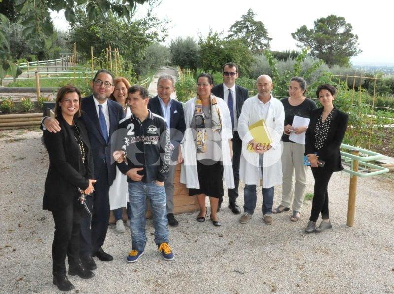 L'onorevole Gianni Pittella in visita all'Istituto Serafico di Assisi