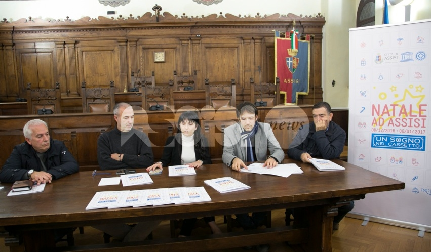 Natale ad Assisi Un sogno nel cassetto: cabina di regia per le feste in città