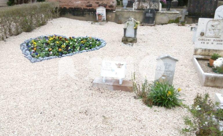 Al Cimitero di Assisi riqualificata l'area dedicata ai bambini