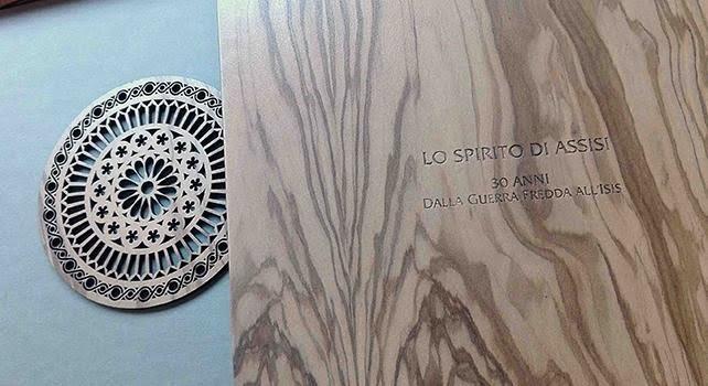 Un libro sullo Spirito di Assisi: il dono dei francescani al Pontefice