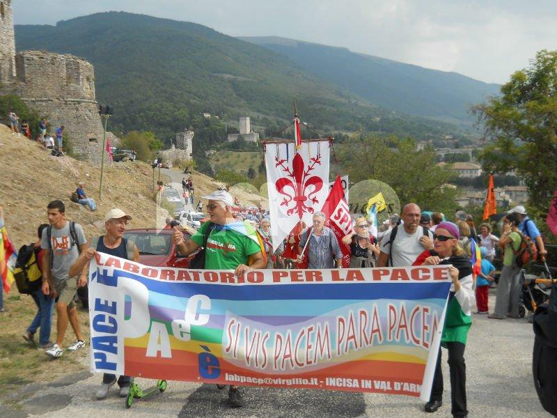 Il 10 settembre la Marcia della pace Perugia Assisi 2016 in notturna