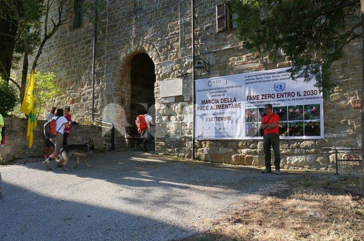 Marcia della pace alimentare al Sentiero di Francesco 2016