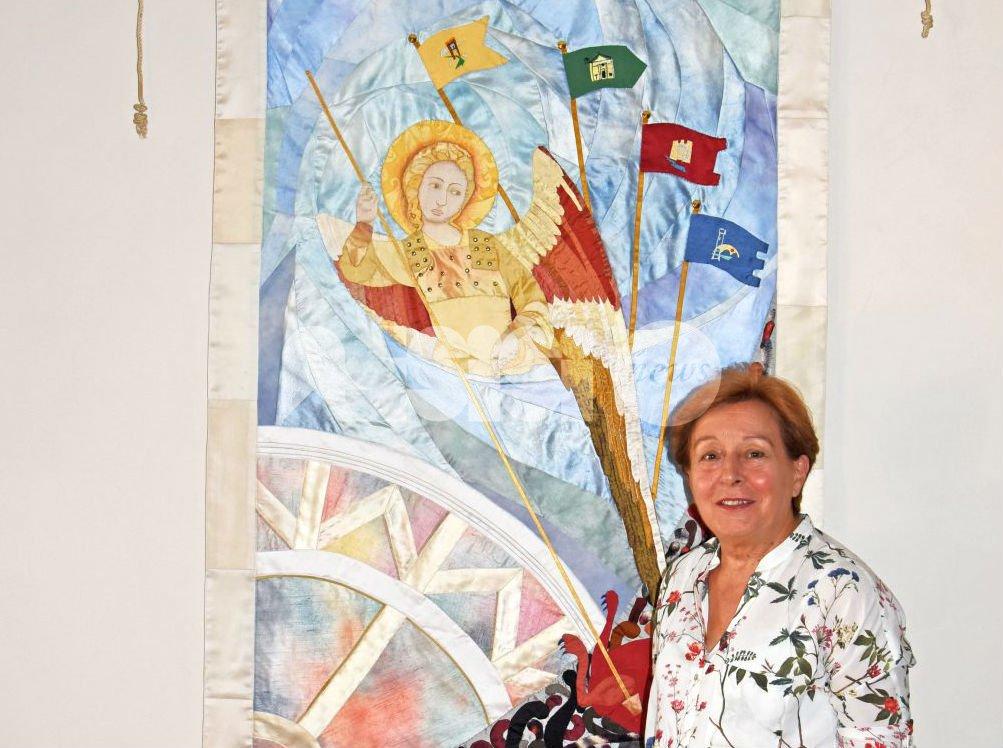 Bastia Umbra, Maria Caldari è l'artista del Palio de San Michele 2016