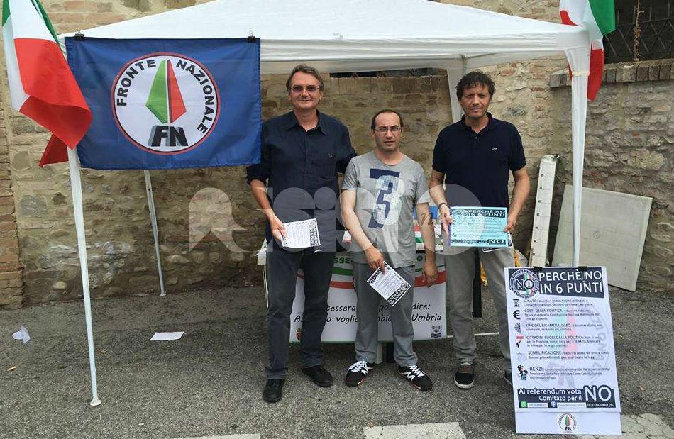 No alla riforma costituzionale, la campagna del Fronte Nazionale Bastia