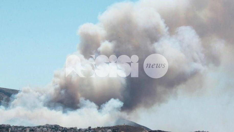 Nube di fumo su Rivotorto: bruciate di notte sostanze pericolose?