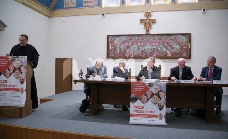 Pace mezzo o fine?, il convegno al Sacro Convento di Assisi: foto
