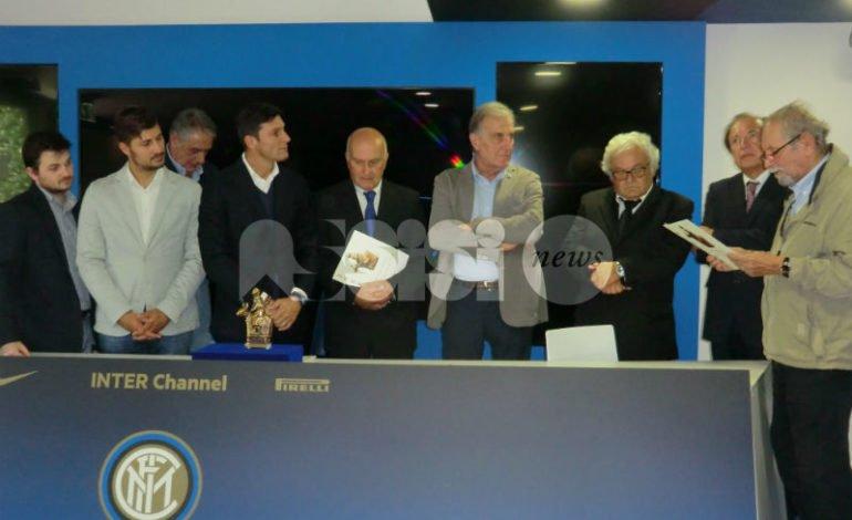 Il Pellegrino di Pace 2016 assegnato a Javier Zanetti