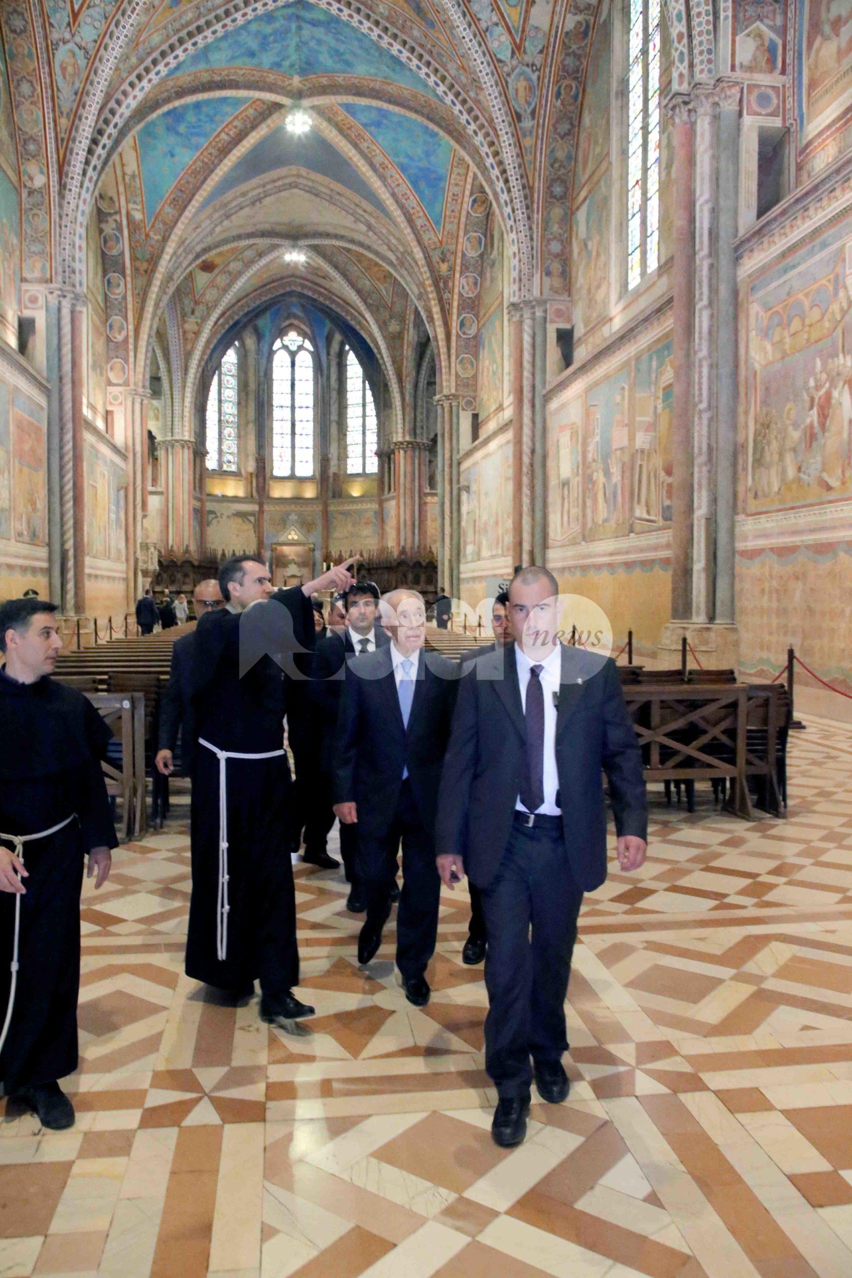 Ad Assisi la firma dell'accordo di collaborazione tra la Fondazione Giovanni Paolo II e il Centro Peres