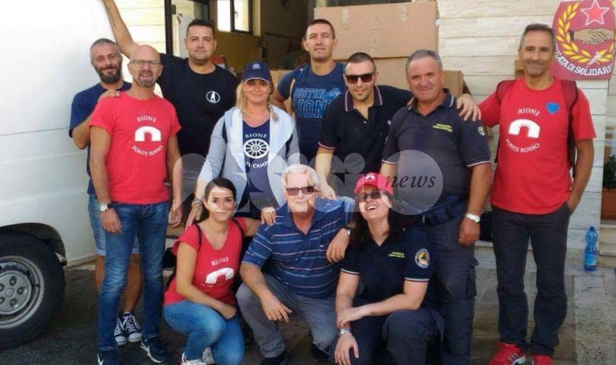 Solidarietà: Rioni de Jangeli, Moncioveta e ADAlex insieme per i terremotati