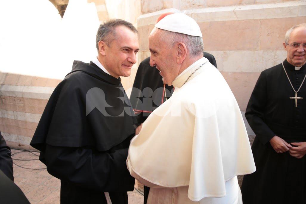 Papa Francesco ad Assisi per la Giornata mondiale di preghiera per la pace 2016