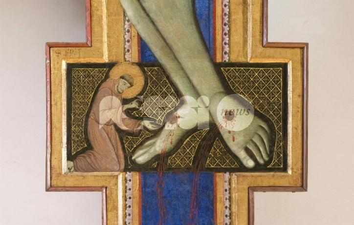 Francesco e la Croce dipinta alla Galleria Nazionale dell'Umbria