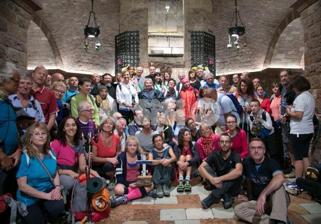 Sentiero di Francesco 2016: pellegrini in cammino da Assisi a Gubbio