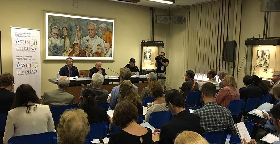 Spirito di Assisi 2016: il programma di Sete di Pace presentato a Roma
