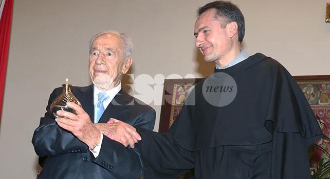 Morto Shimon Peres, ex presidente israeliano e cittadino onorario di Assisi