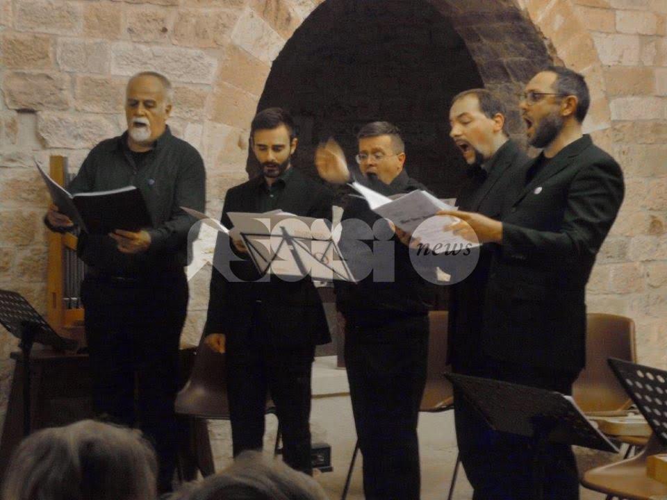 Musica per San Francesco, successo per il concerto dell'Anonima Frottolisti