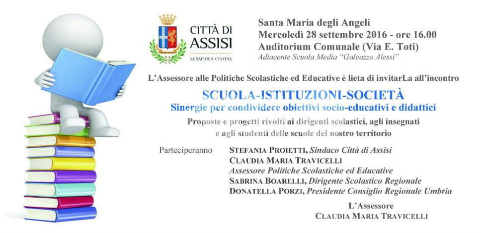 Scuola, Istituzioni, Società: convegno su proposte e progetti per le scuole