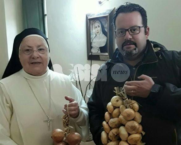 Alla Casa Famiglia Santa Lucia (Gubbio) 70 kg di cipolle di Cannara