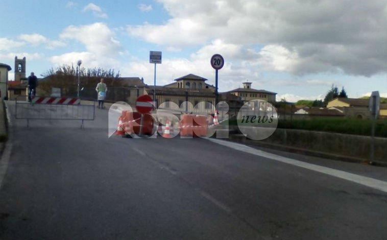 Ponte di Cannara chiuso per lavori martedì e mercoledì dalle 9 alle 17