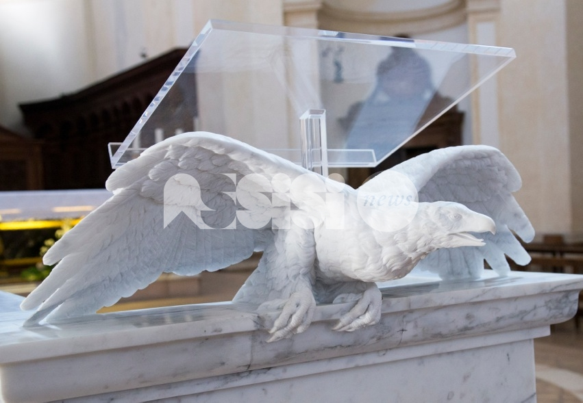 L'ambone di San Rufino presentato ai cittadini di Assisi il 14 ottobre