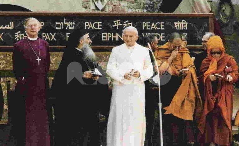 Papa Giovanni Paolo II, un Santo ricordato da Assisi