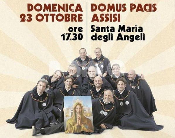 I Priori Serventi 2017 si presentano domenica 23 ottobre alla Domus Pacis