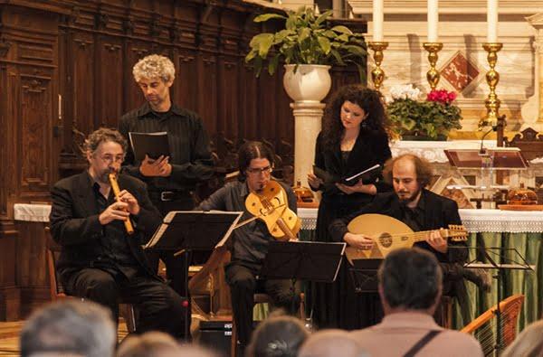 Ensemble Laus Veris, un pezzo di Assisi nella fiction I Medici