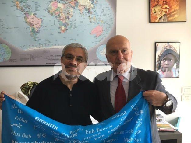 """Fra Prospero Arciniegas al Centro Pace: """"Grazie per vostra collaborazione"""""""