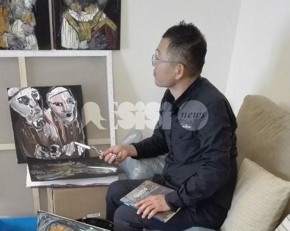 Ghiru Kim già ad Assisi per 1000 facce della luna al via l'11 dicembre