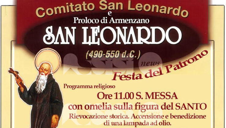 San Leonardo festeggiato domenica 6 novembre alle Montarelle di Armenzano