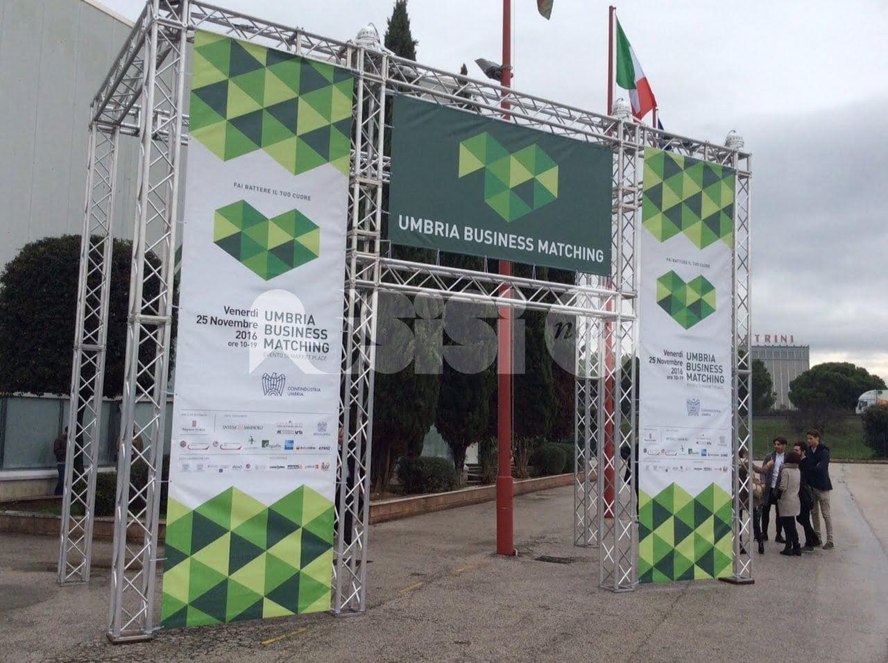 Umbria Business Matching 2016 all'UmbriaFiere di Bastia Umbra
