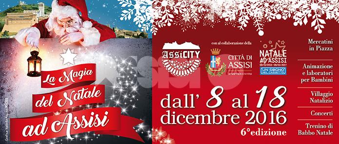La Magia del Natale ad Assisi 2016: tornano i mercatini natalizi, programma