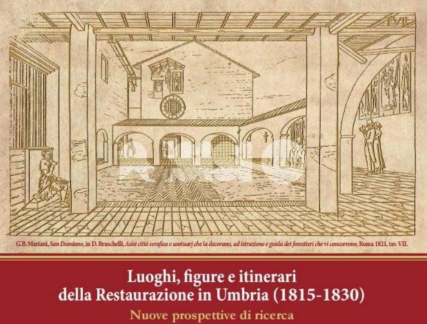 Restaurazione in Umbria, il 2-3 dicembre convegno a Palazzo Bonacquisti