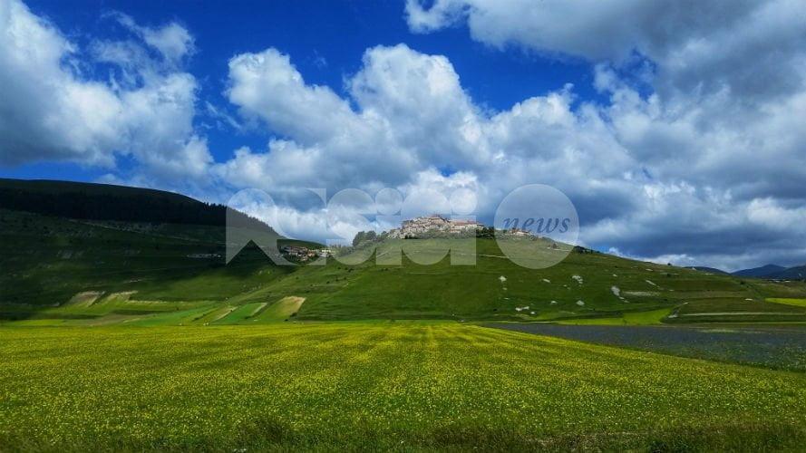 Riattivata la webcam di Castelluccio di Norcia (foto+video)