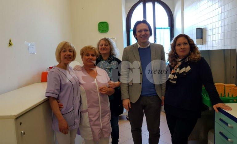 Il Comune di Assisi promuove la mensa alla scuola per ciechi