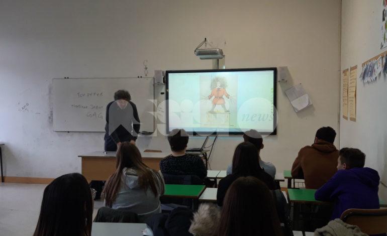 Al Liceo Properzio di Assisi si scopre il mondo con il fermo didattico (foto)