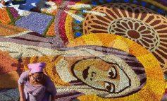 Infiorate 2019 ad Assisi, si rinnova la tradizione dei tappeti floreali (foto)