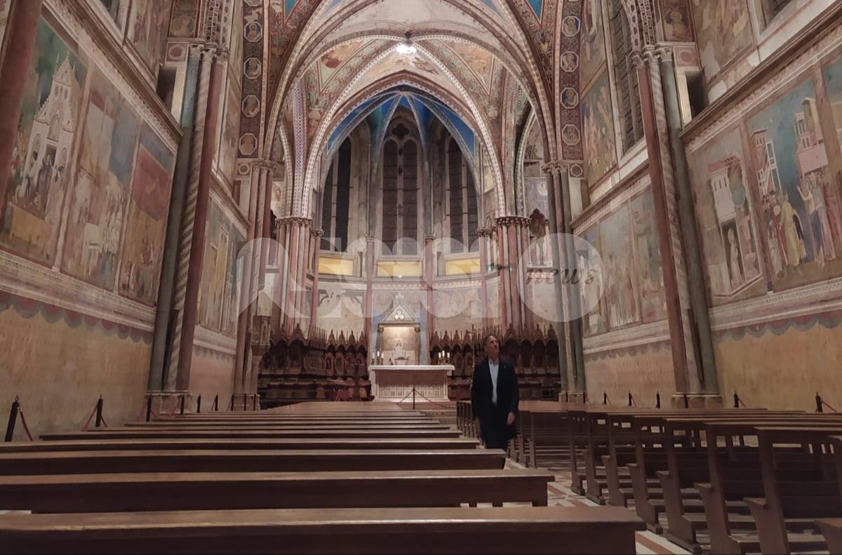 Viaggio nella grande bellezza, riprese ad Assisi per Cesare Bocci (FOTO+VIDEO)