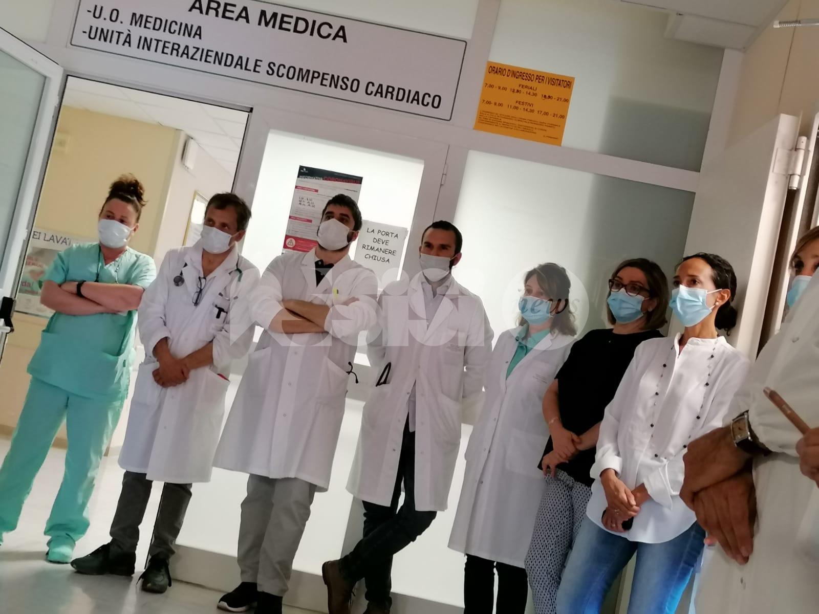 Premio Ideale Rotariano 2020 al personale dell'ospedale di Assisi (foto)