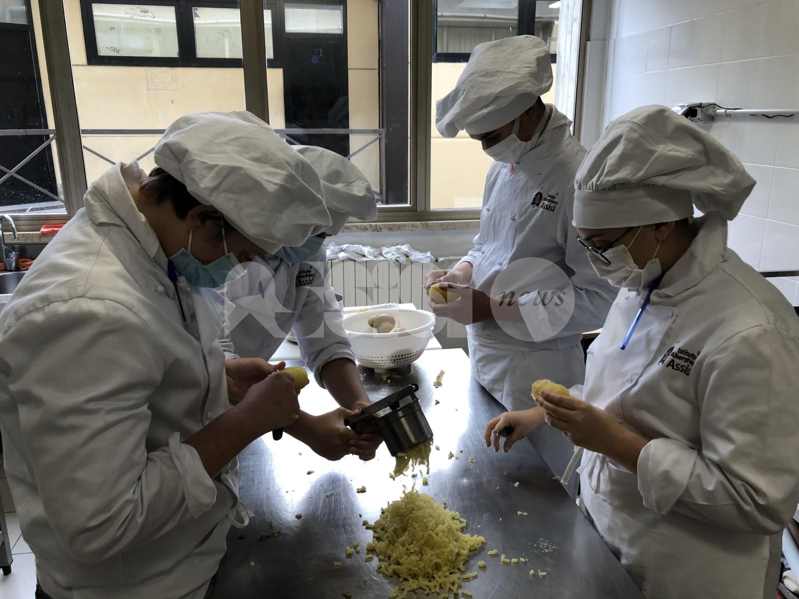 Istituto Alberghiero di Assisi, scuola d'eccellenza per il futuro (foto+video)
