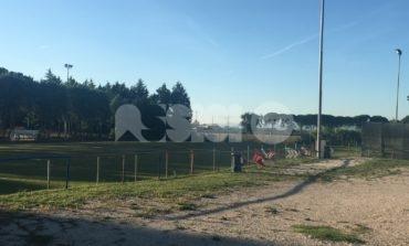 Lo stadio di Palazzo di Assisi è senza tribuna: botta e risposta Travicelli-Cavallucci