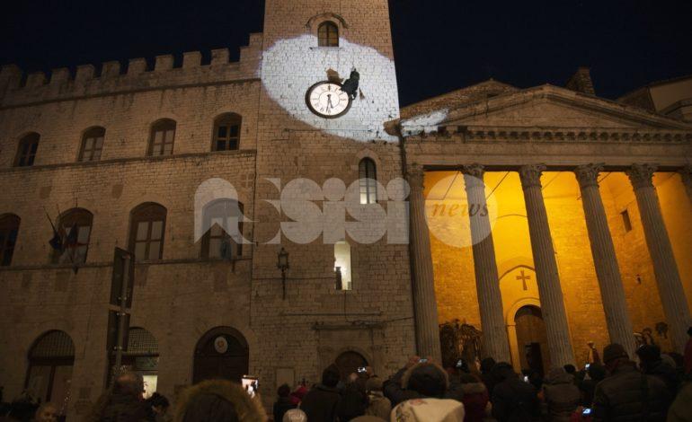 Befana 2019 ad Assisi, si cala da torri, campanili e …dal Monte Subasio. Le foto