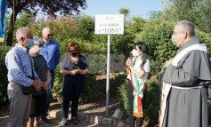 Il Giardino di Elisa inaugurato a Santa Maria degli Angeli (foto)