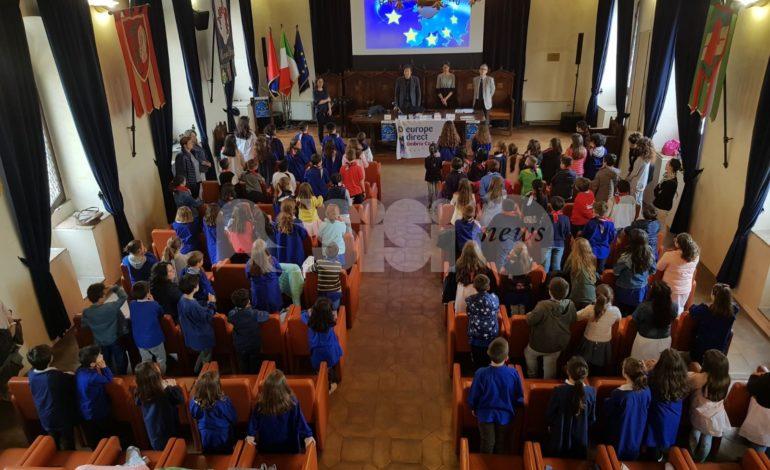 Grande partecipazione delle scuole alla Festa dell'Europa 2018: le foto
