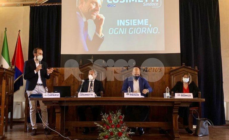 """Marco Cosimetti si presenta: """"Ripartire e crescere insieme"""" (foto+video)"""